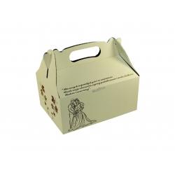Pudełko 19x14 alum.