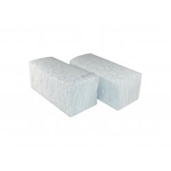 Ręczniki ZZ białe tłoczone