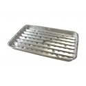 Tacki aluminiowe do grillowania 34x23cm (4szt.)