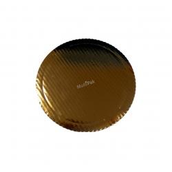 Podkładki grube Ø 24cm złote kartonowe