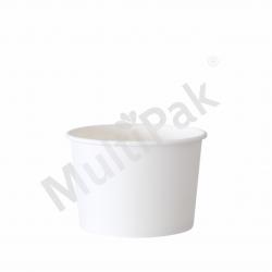Kubek na lody biały 130ml