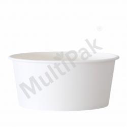 Kubek na lody biały 350 ml