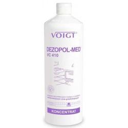 VOIGT Dezopol Med VC-410 1l - preparat do dezynfekcji i mycia bakteriobójczy i grzybobójczy