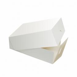 Pudełko cukiernicze na ciasto białe - małe