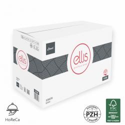 Serwetki ELLIS do podajnika 2-warstwowe wytłaczane z celulozy (6600szt.)