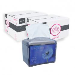 """promocja ELLIS"" 2 kartony serwetek ELLIS 9000 + podajnik"