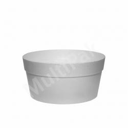 Miska styropianowa pojemnik na zupę 340 ml