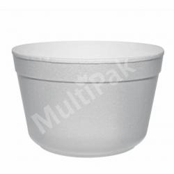 Miska styropianowa pojemnik na zupę 460 ml