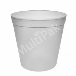Miska styropianowa pojemnik na zupę 680 ml