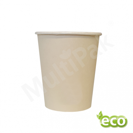 Kubek ekologiczny biodegradowalny powlekany PLA 250 ml A'100szt.