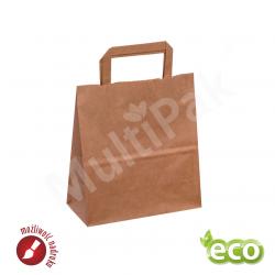 torby papierowe brązowe ekologiczne 220x110x245mm