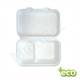 pojemnik obiadowy Menu box z trzciny cukrowej dwudzielny
