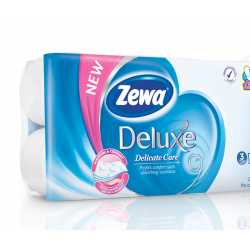 Papier toaletowy ZEWA Deluxe Delicate Care 3-warstwowy