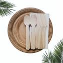 Ekologiczny ZESTAW 1 piknikowy grillowy dla 6 osób /konfekcjonowany