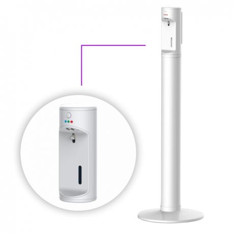 Automat do bezdotykowej dezynfekcji rąk (sanityzer i stojak)