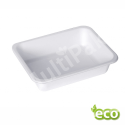 Pojemnik do zgrzewu z pulpy trzciny jednokomorowy EKO /400szt