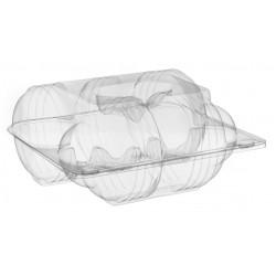 Pojemnik transparentny - pudełko na 5 pączków SL215 /300szt.