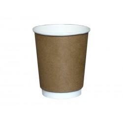 Kubek papierowy termiczny KRAFT 300ml /do napojów gorących