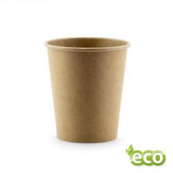 Kubek papierowy KRAFT 100ml /do napojów gorących