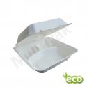 Menu Box pojemnik obiadowy z trzciny 3-dzielny  220x200x80 / 200szt