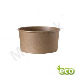 Miska papierowa na sałatki KRAFT 1000ml/ KARTON 300szt.