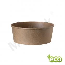 Miska papierowa na sałatki KRAFT 1300ml/ KARTON 300szt.
