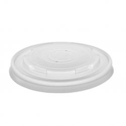 Wieczko plastikowe do pojemnika na zupę dekiel pokrywka PP /500szt.