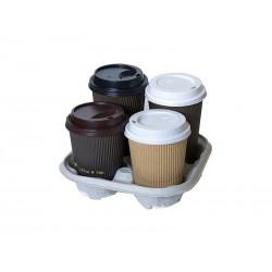 Cup Holder UCHWYT podstawka transportowa na 4 kubki papierowe