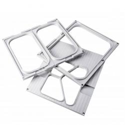 Aluminiowa MATRYCA ramka do zgrzewarki/pakowarki foliowej AG02E i AG02HD