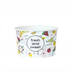 """Miseczka papierowa na lody """"Fresh and Sweet"""" 245ml"""