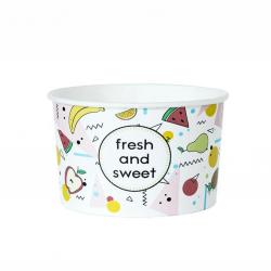 """Miseczka papierowa na lody """"Fresh and Sweet"""" 360 ml"""