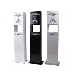 Stojak z automatem do bezdotykowej dezynfekcji rąk TOWER