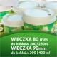 Ekologiczne wieczko/ Dekiel do kubków/ Pokrywka z pulpy 80mm Future SmartTM Duo Lid