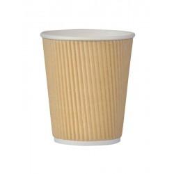 Kubek dwuwarstowy karbowany 300 ml Coffee 4 You