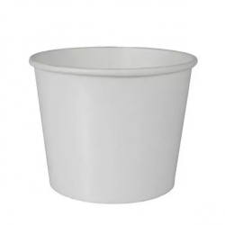 Miska papierowa na zupę BIAŁA pojemnik papierowy na wynos  500ml /50szt./
