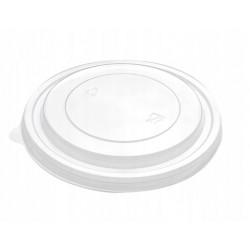 Dekiel PET pokrywka do miski papierowej KRAFT 1100 i 1300ml/ 50szt.