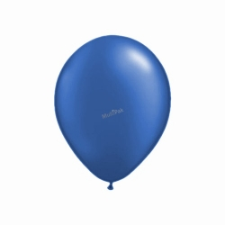 Balony granatowe
