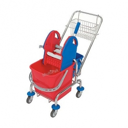 Wózek chromowany